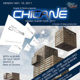 Playing at Chicane's Album Tour in Norway!
