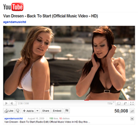 Van Dresen - Back To Start music video just achieved 50.000 views on YouTube!